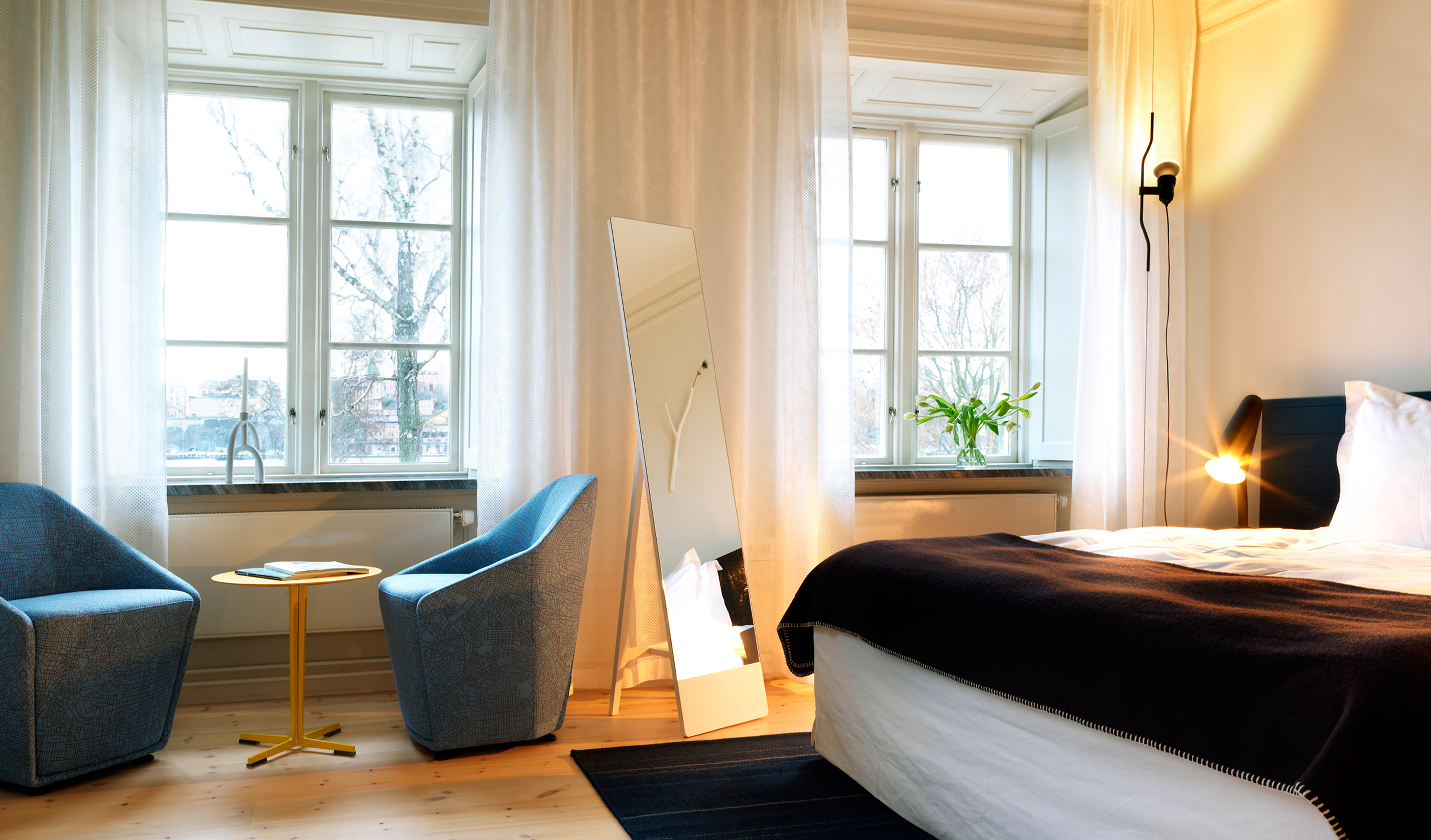 Hotel skeppsholmen stockholm sweden design hotels for Designhotel q