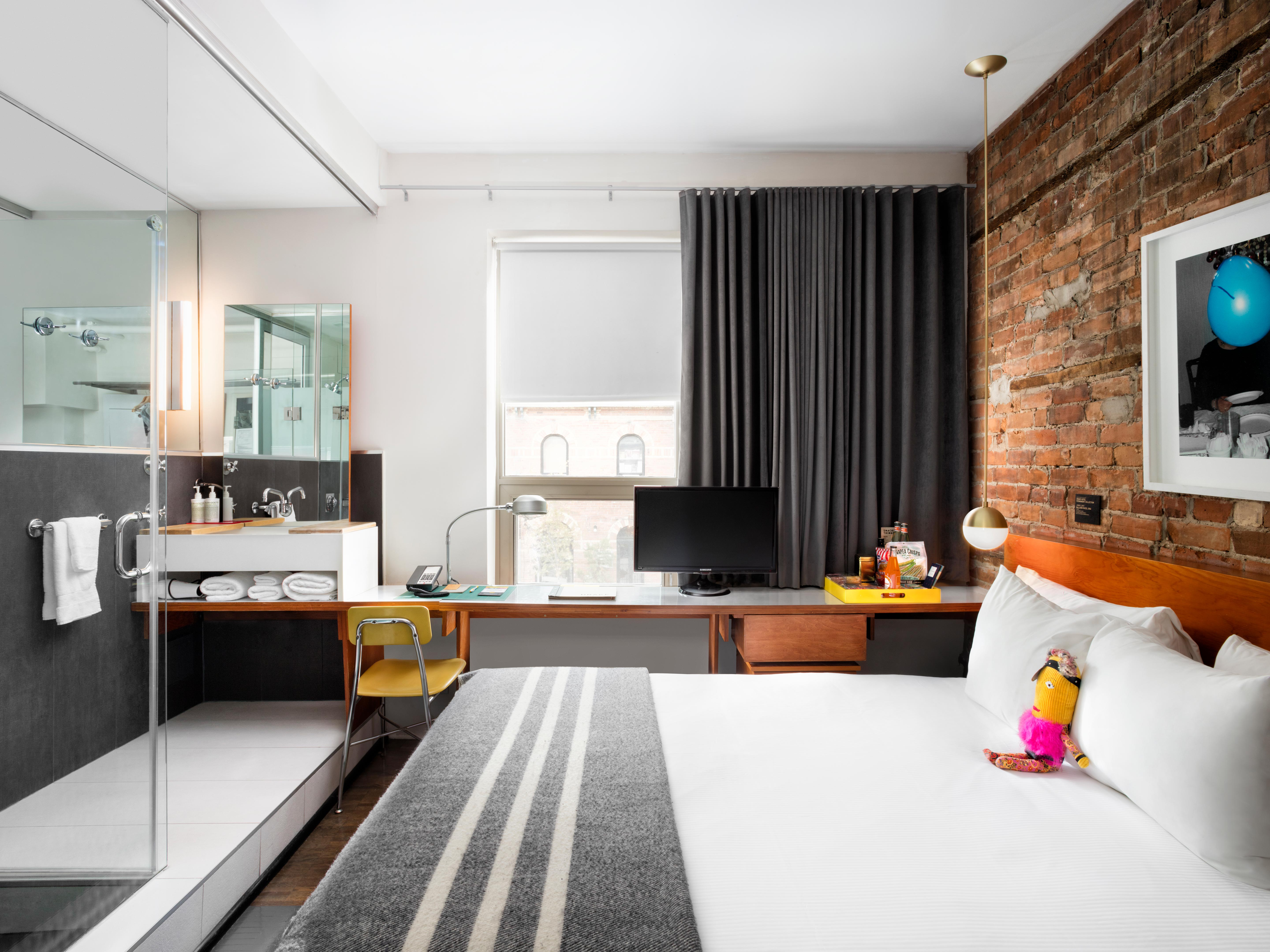 rooms suites at the drake hotel in toronto design hotels