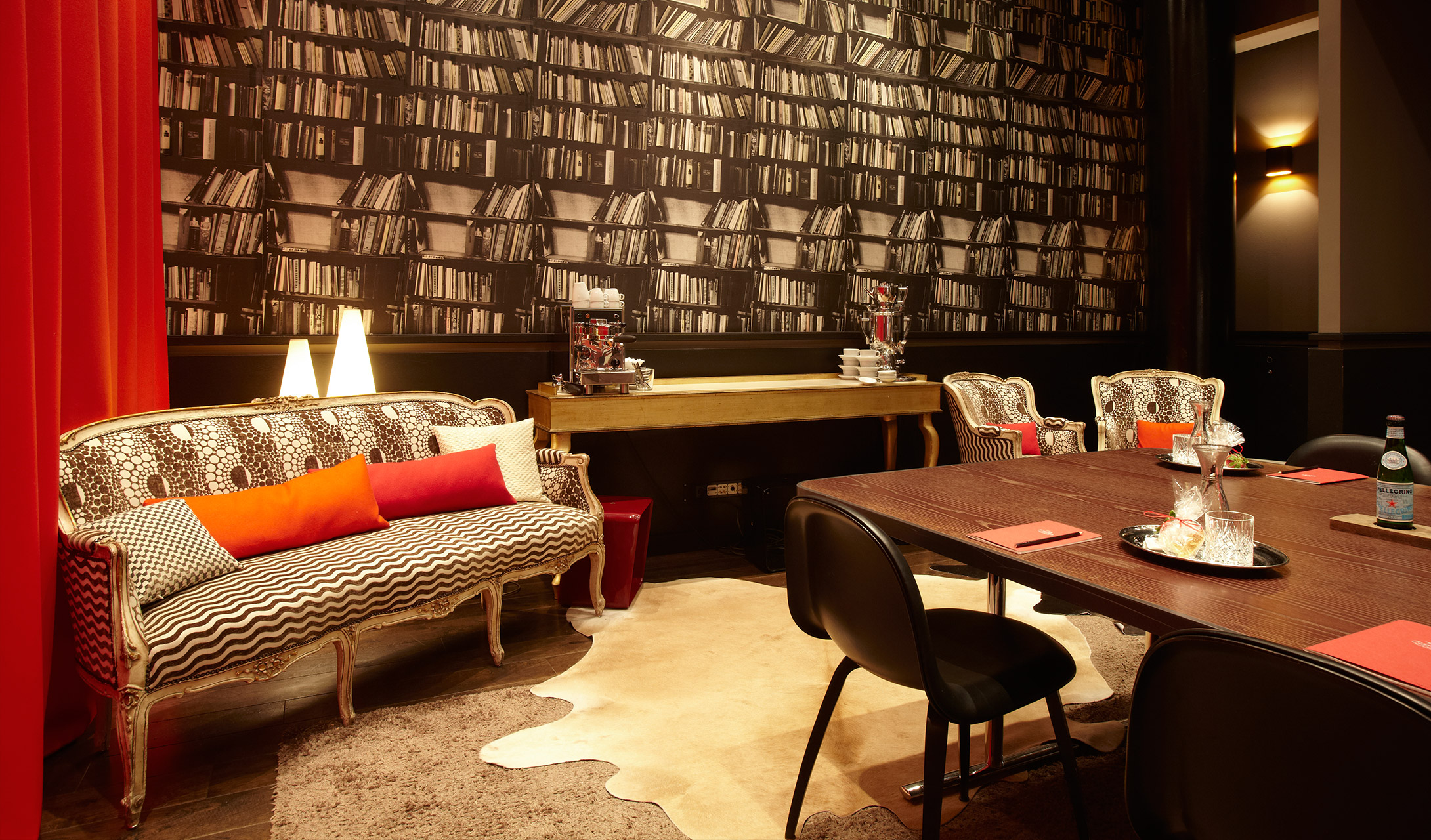 The george hamburg germany design hotels for Designhotel q